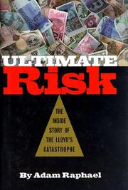 ULTIMATE RISK by Adam Raphael