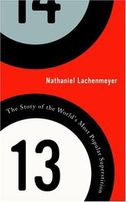 13 by Nathaniel Lachenmeyer