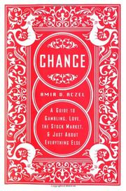 CHANCE by Amir D. Aczel