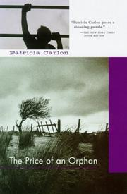 THE PRICE OF AN ORPHAN by Patricia Carlon