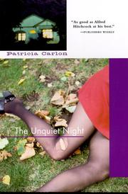 THE UNQUIET NIGHT by Patricia Carlon