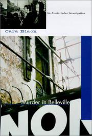 MURDER IN BELLEVILLE by Cara Black