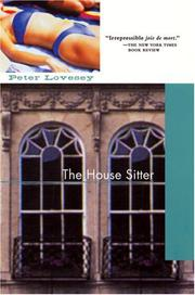 THE HOUSE SITTER by Peter Lovesey