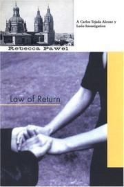 LAW OF RETURN by Rebecca Pawel