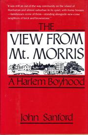 THE VIEW FROM MT. MORRIS by John Sandford