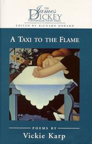 A TAXI TO THE FLAME by Vickie Karp