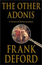 THE OTHER ADONIS by Frank Deford