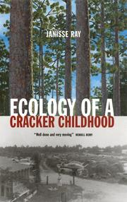 Book Cover for ECOLOGY OF A CRACKER CHILDHOOD
