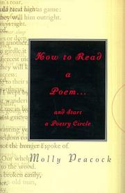 HOW TO READ A POEM by Molly Peacock