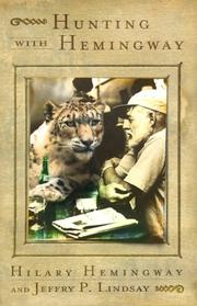 HUNTING WITH HEMINGWAY by Hilary Hemingway