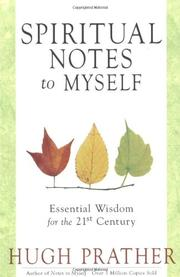 Book Cover for SPIRITUAL NOTES TO MYSELF