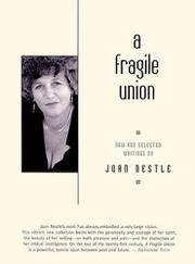 A FRAGILE UNION by Joan Nestle