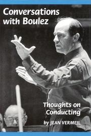Cover art for CONVERSATIONS WITH BOULEZ
