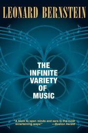 THE INFINITE VARIETY OF MUSIC by Leonard Bernstein