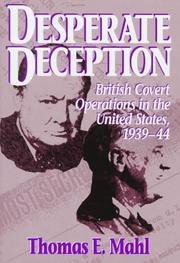 DESPERATE DECEPTION by Thomas E. Mahl