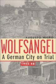 WOLFSANGEL by August Nigro