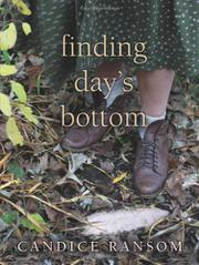 FINDING DAY'S BOTTOM by Candice Ransom