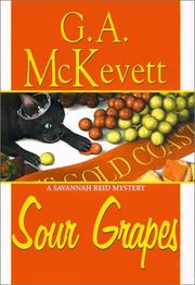 Book Cover for SOUR GRAPES