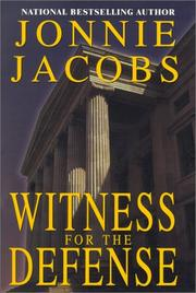 Cover art for WITNESS FOR THE DEFENSE