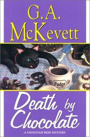 Book Cover for DEATH BY CHOCOLATE