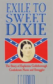 EXILE TO SWEET DIXIE by E.F. Conklin