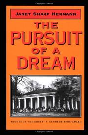 THE PURSUIT OF A DREAM by Janet Sharp Hermann