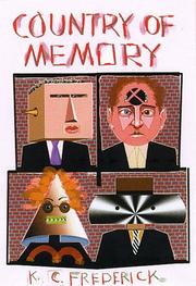 Book Cover for COUNTRY OF MEMORY