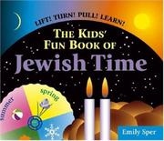 Cover art for THE KIDS' FUN BOOK OF JEWISH TIME