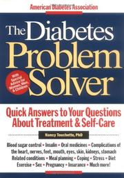 THE DIABETES PROBLEM SOLVER by Nancy Touchette