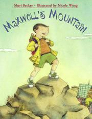 Book Cover for MAXWELL'S MOUNTAIN