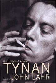 THE DIARIES OF KENNETH TYNAN by Kenneth Tynan