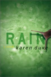 RAIN by Karen Duve