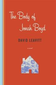 Cover art for THE BODY OF JONAH BOYD