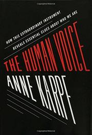 Book Cover for THE HUMAN VOICE