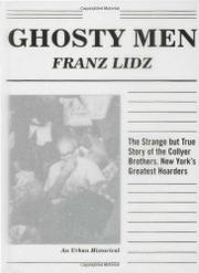 GHOSTY MEN by Franz Lidz