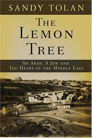 THE LEMON TREE by Sandy Tolan