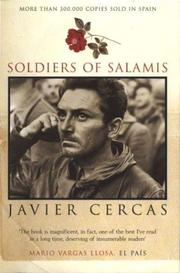 SOLDIERS OF SALAMIS by Javier Cercas