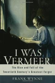 Book Cover for I WAS VERMEER