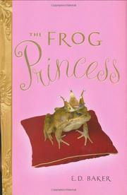 Cover art for THE FROG PRINCESS