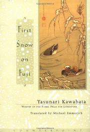 Cover art for FIRST SNOW ON FUJI