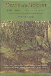 DEATH OF A HORNET by Robert Finch