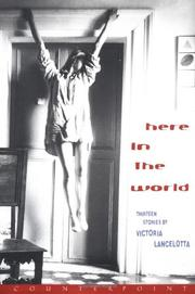 Book Cover for HERE IN THE WORLD