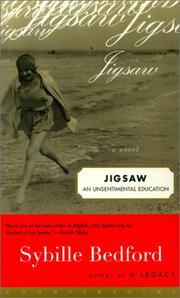 JIGSAW by Sybille Bedford