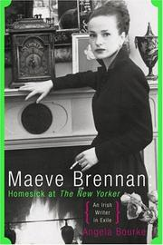 MAEVE BRENNAN by Angela Bourke