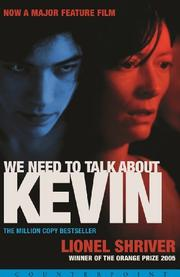 Cover art for WE NEED TO TALK ABOUT KEVIN