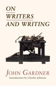 Cover art for ON WRITERS AND WRITING
