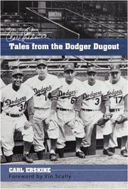 CARL ERSKINE'S TALES FROM THE DODGER DUGOUT by Carl Erskine