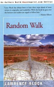 RANDOM WALK by Lawrence Block