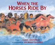 Book Cover for WHEN THE HORSES RIDE BY