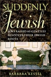 SUDDENLY JEWISH by Barbara Kessel
